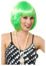 Short Green Munchkin Wig