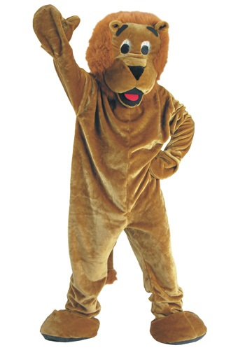 Mascot Storybook Lion Costume