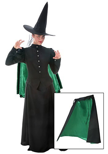 Womens Witch Cape