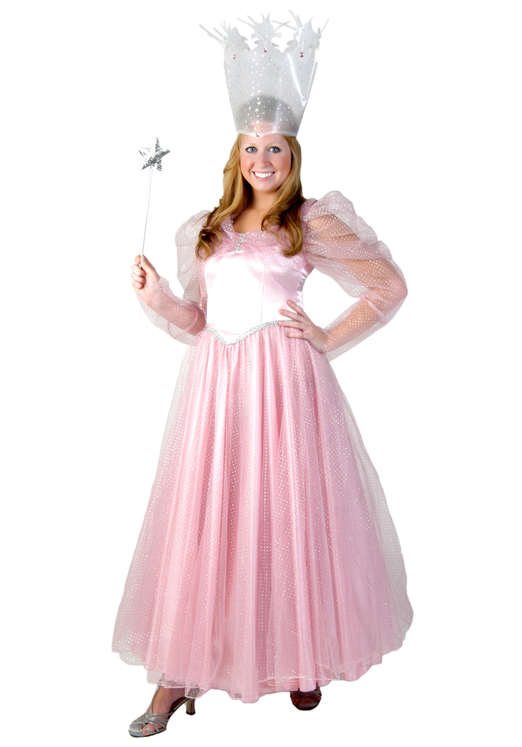 Deluxe Good Witch Costume  sc 1 st  Wizard of Oz Costumes & Deluxe Pink Witch Costume