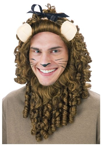 Curly Lion Wig