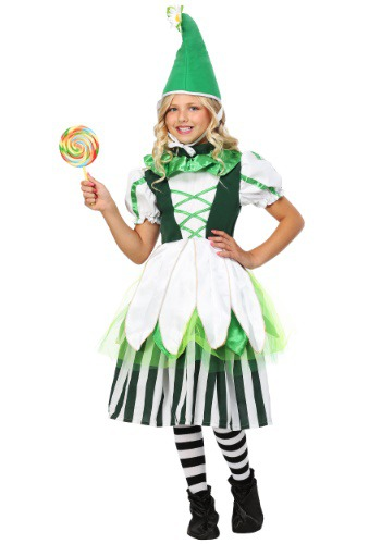 Deluxe Child Girl Munchkin Costume