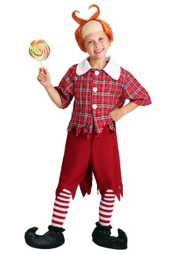 Red Munchkin Child Costume