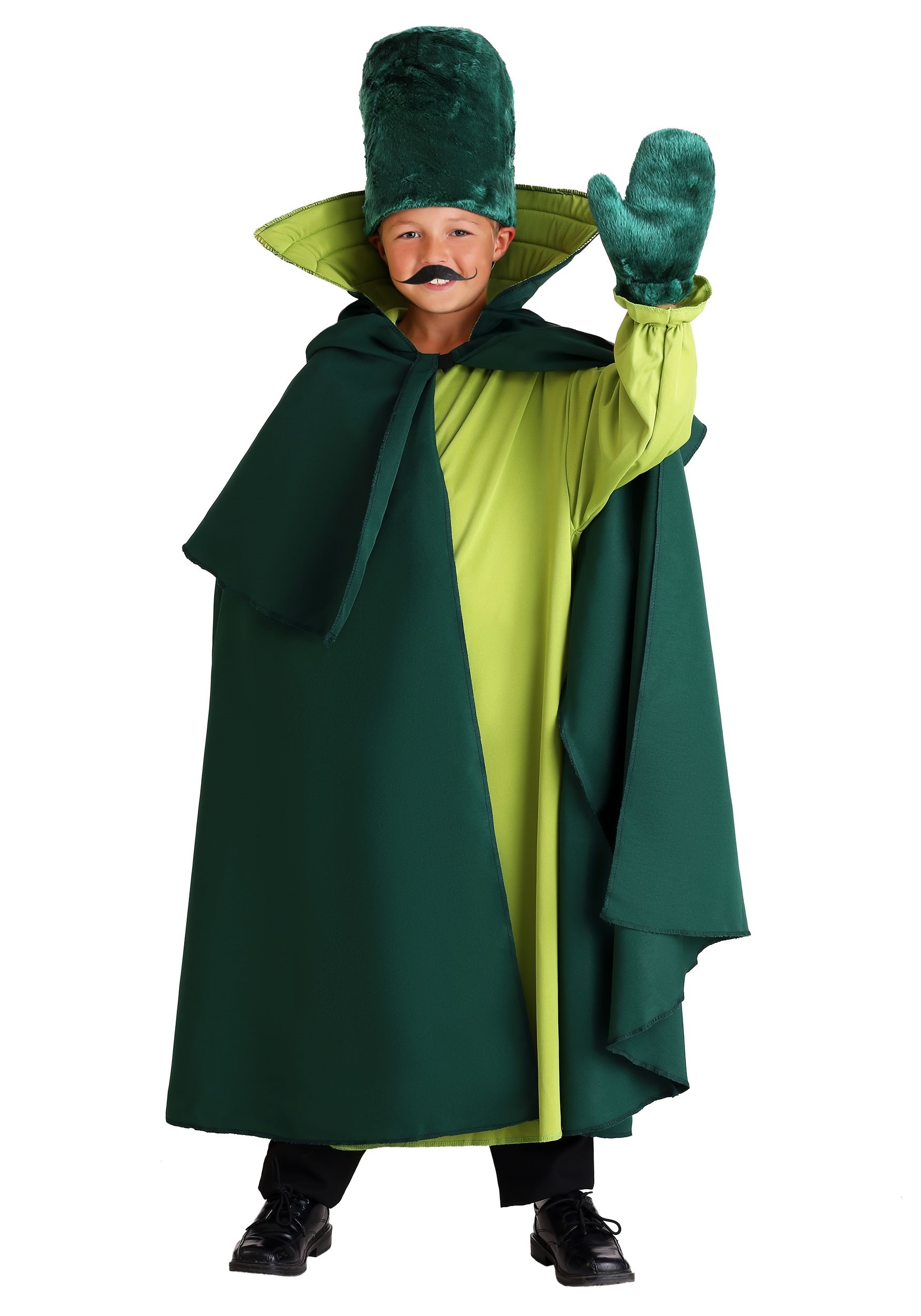sc 1 st  Wizard of Oz Costumes & Child Green Guard Costume