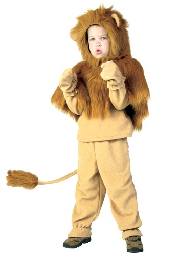 Lion Storybook Child Costume