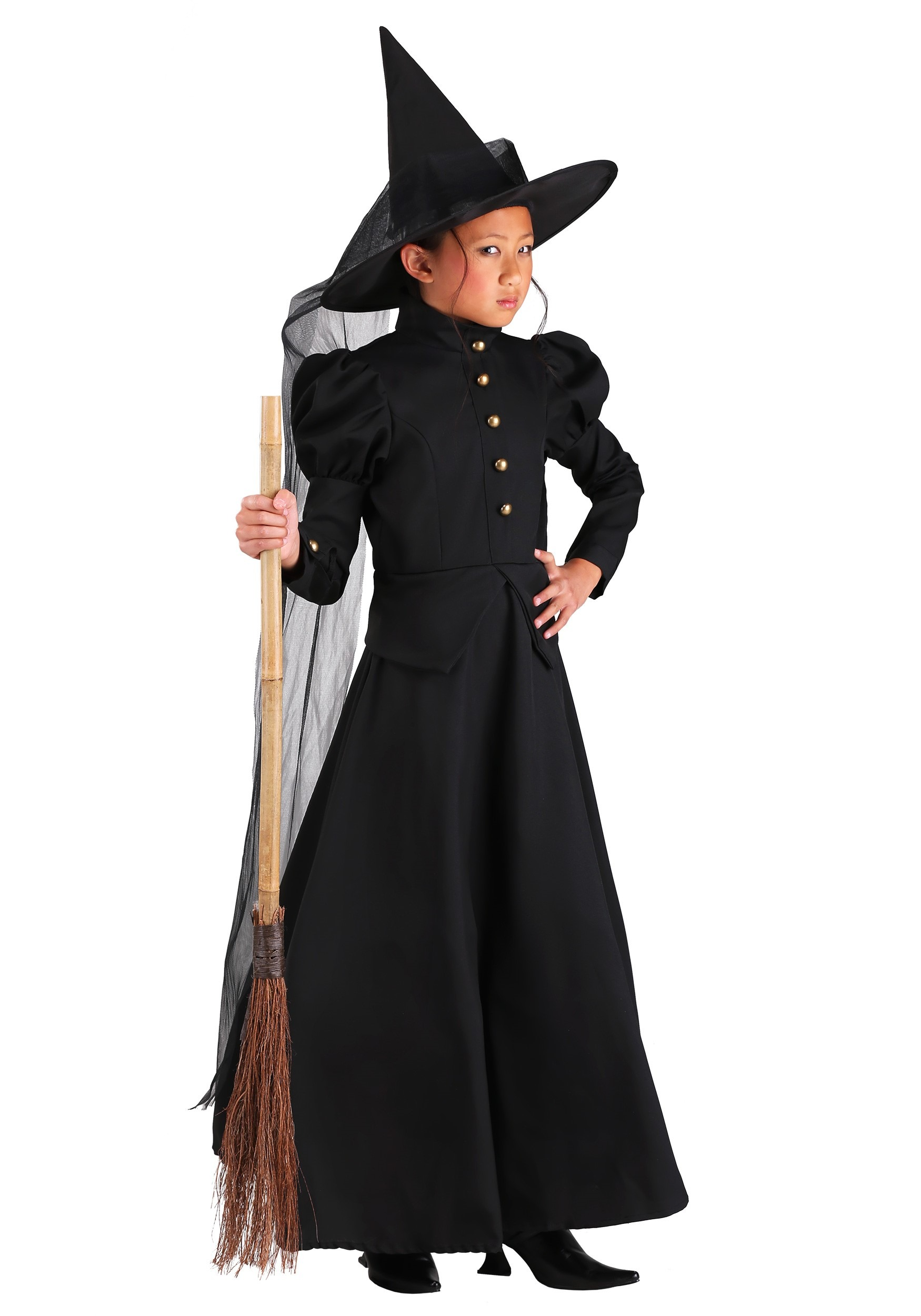 Kids Deluxe Witch Costume