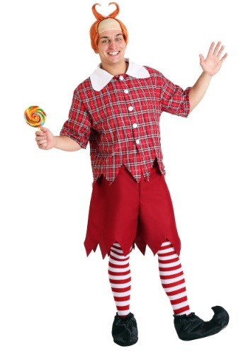 Red Munchkin Adult Costume