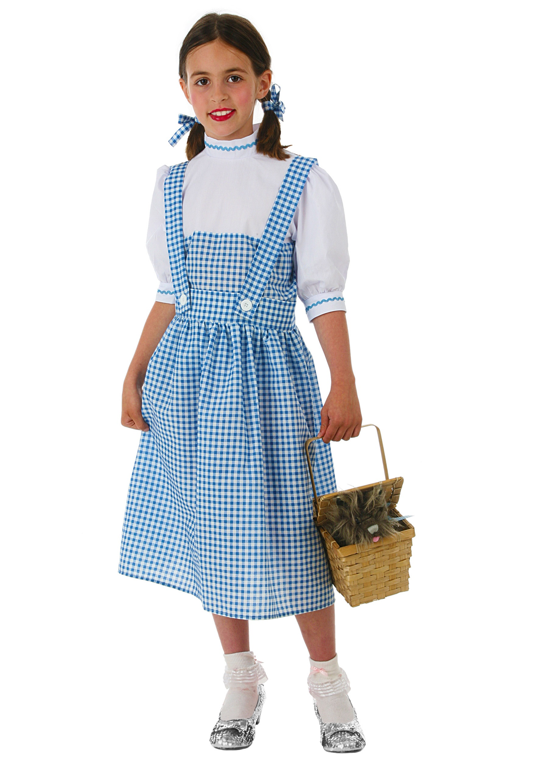 sc 1 st  Wizard of Oz Costumes & Child Kansas Girl Costume Dress