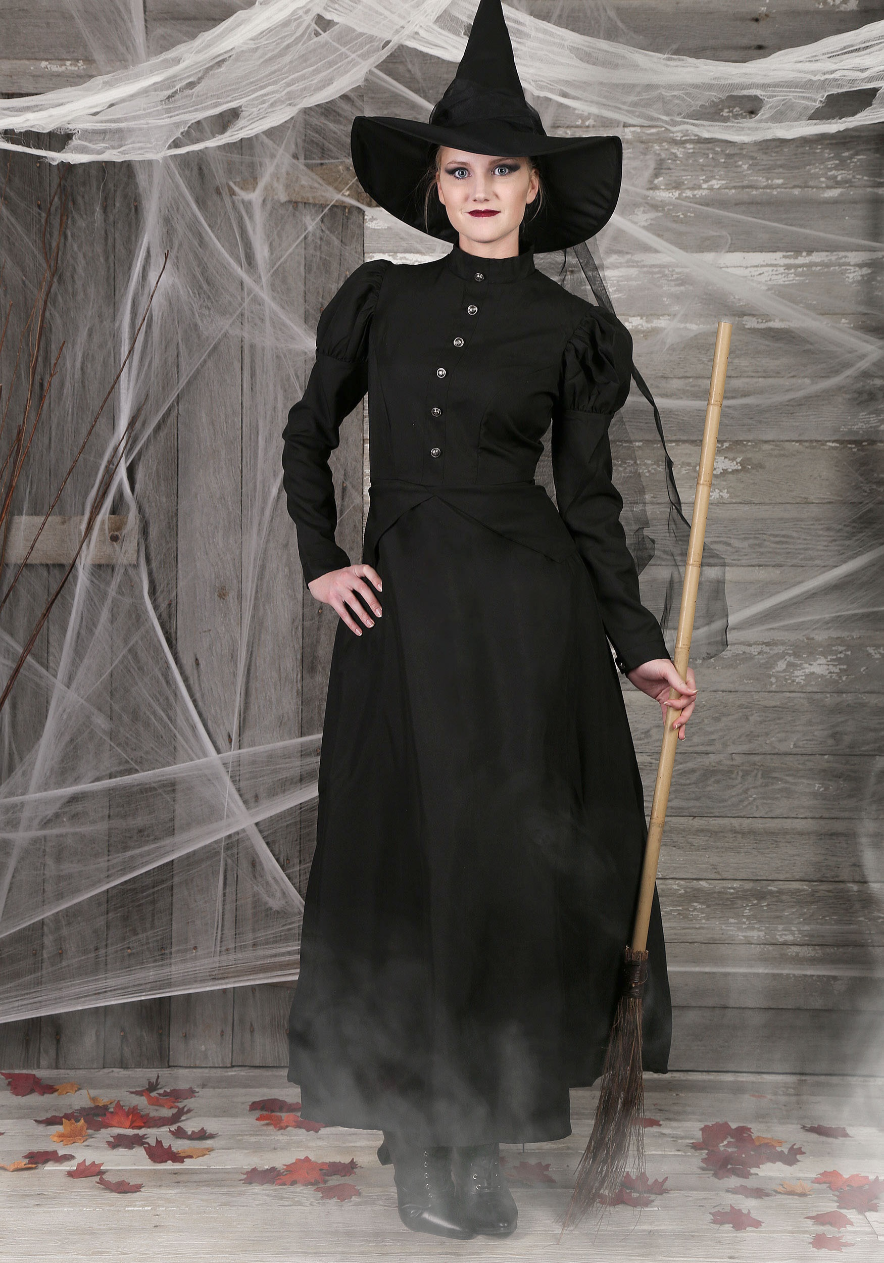 Deluxe Womens Witch Costume
