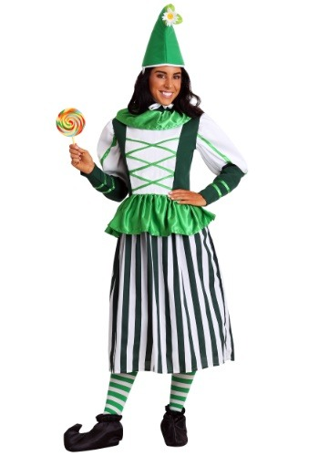 Deluxe Plus Munchkin Woman Costume