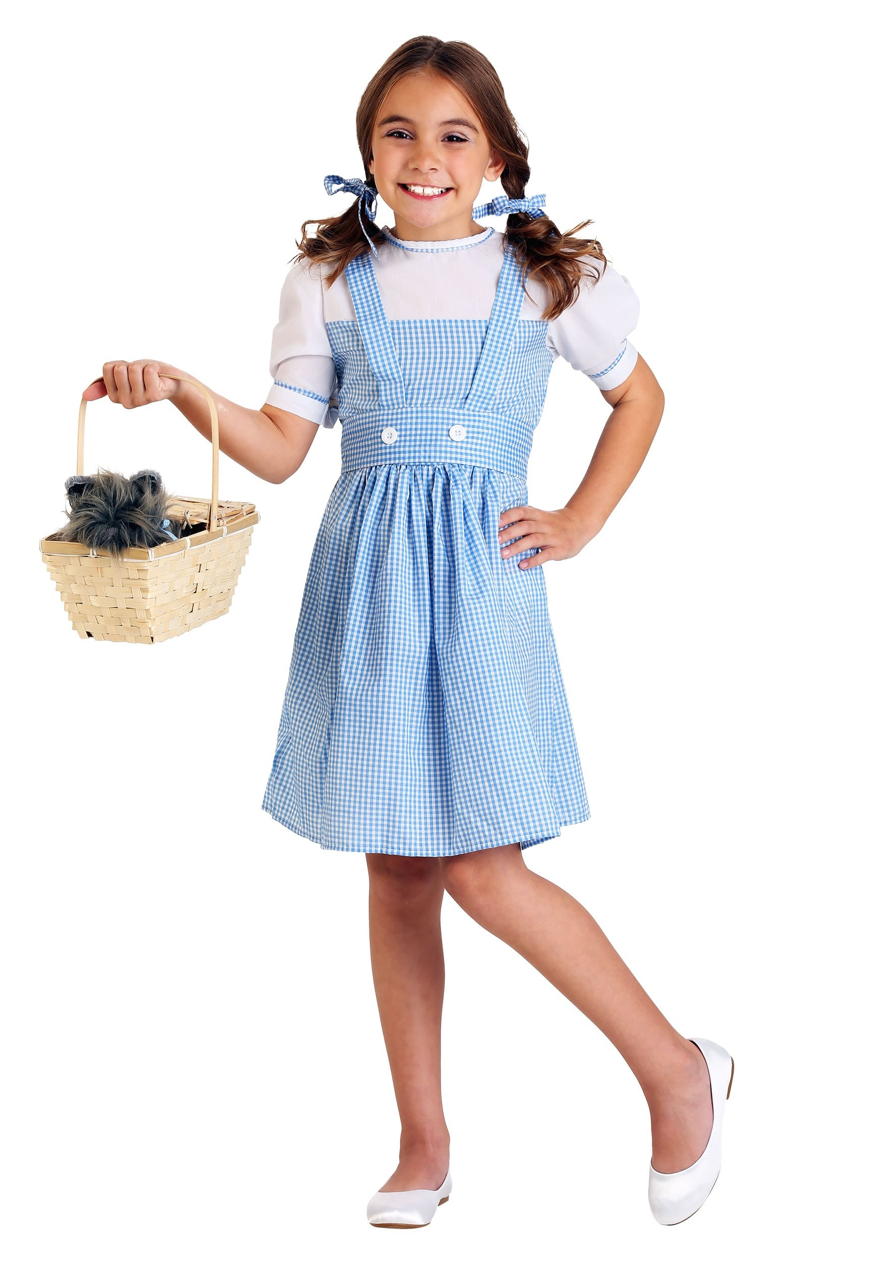 Nwt Girls Wizard Of Oz Dorothy Costume Fantasy Nightgown With Ruby Slippers Girls' Clothing (newborn-5t)