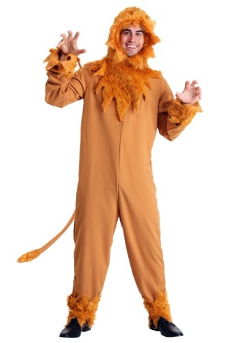 Plus Cowardly Lion Costume