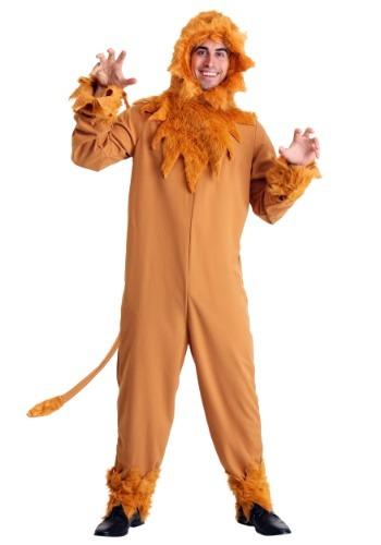 Plus Cowardly Lion Costume