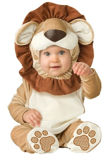 Infant Coward Lion Costume