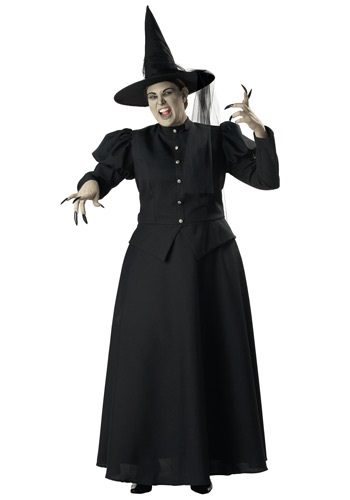 Womens Plus Size Wicked Witch