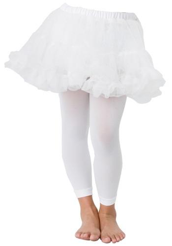 White Girls Petticoat Slip
