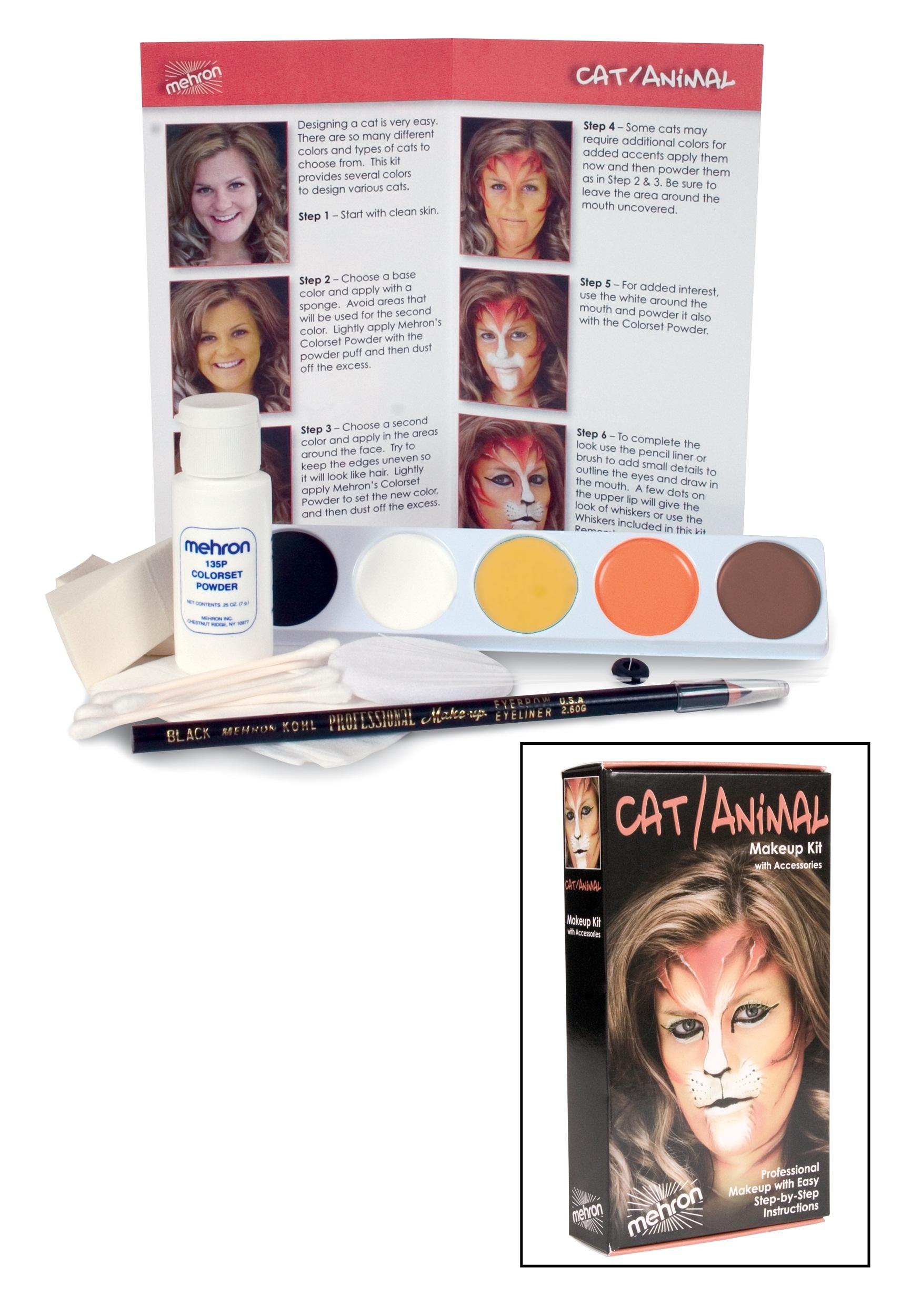 Deluxe Lion Makeup Kit
