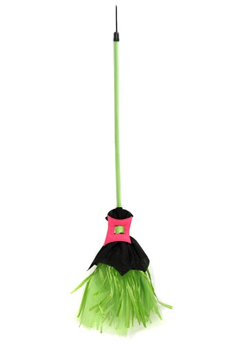 Wicked Spider Witch Broom