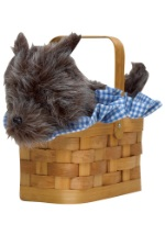 Toto in a Basket Handbag