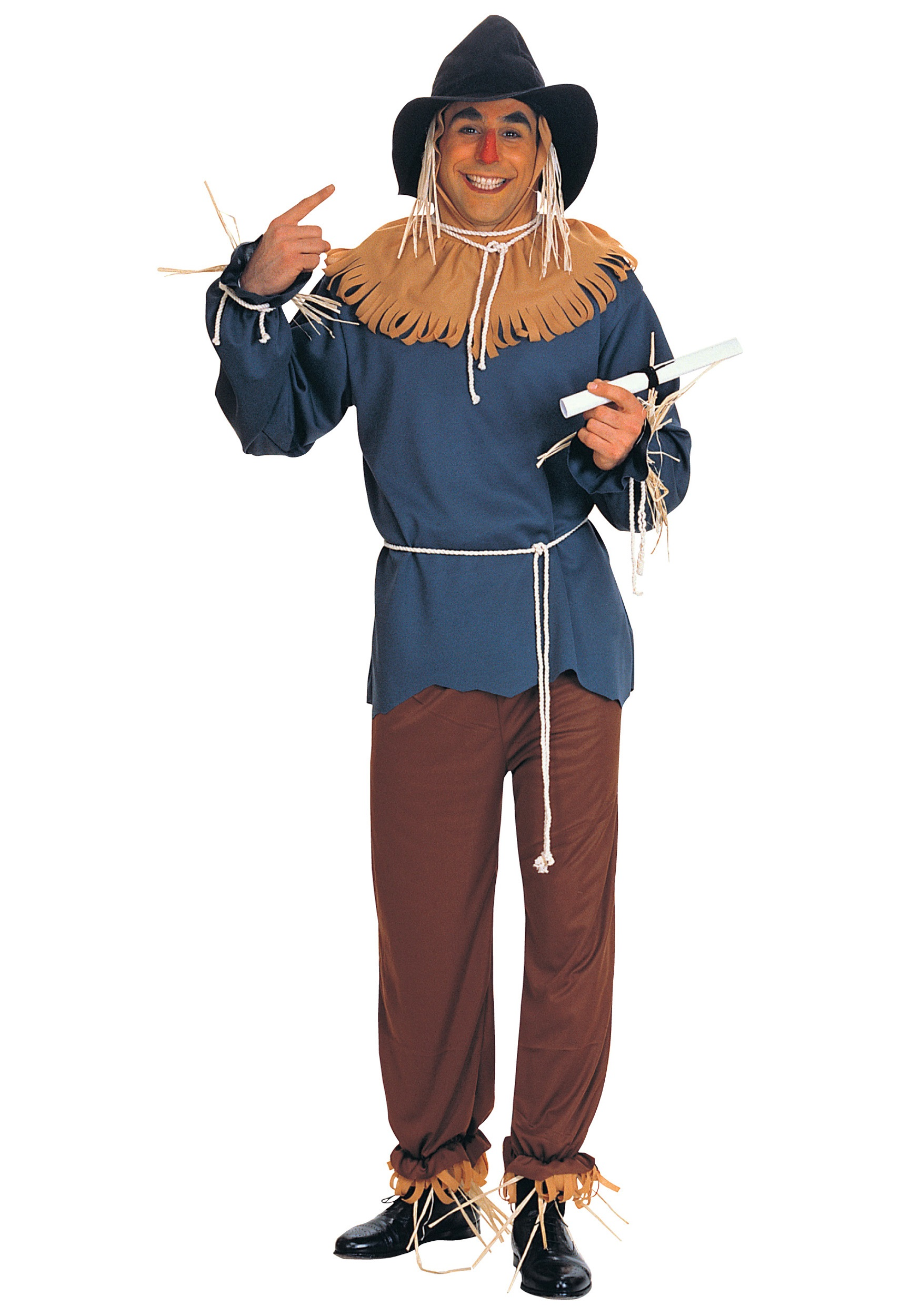 Plus Scarecrow Costume  sc 1 st  Wizard of Oz Costumes : halloween costume for man  - Germanpascual.Com
