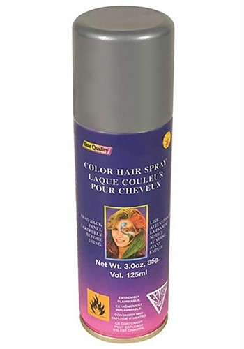 Silver Tin Man Hair Spray