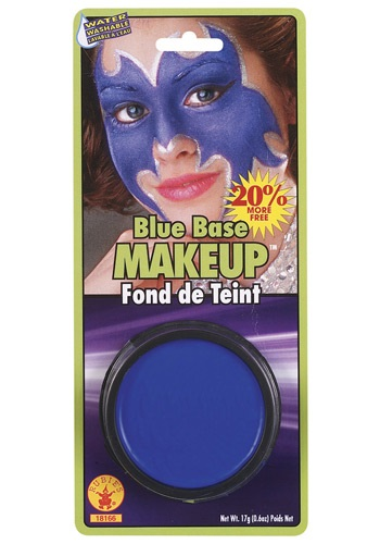 Blue Flying Monkey Makeup