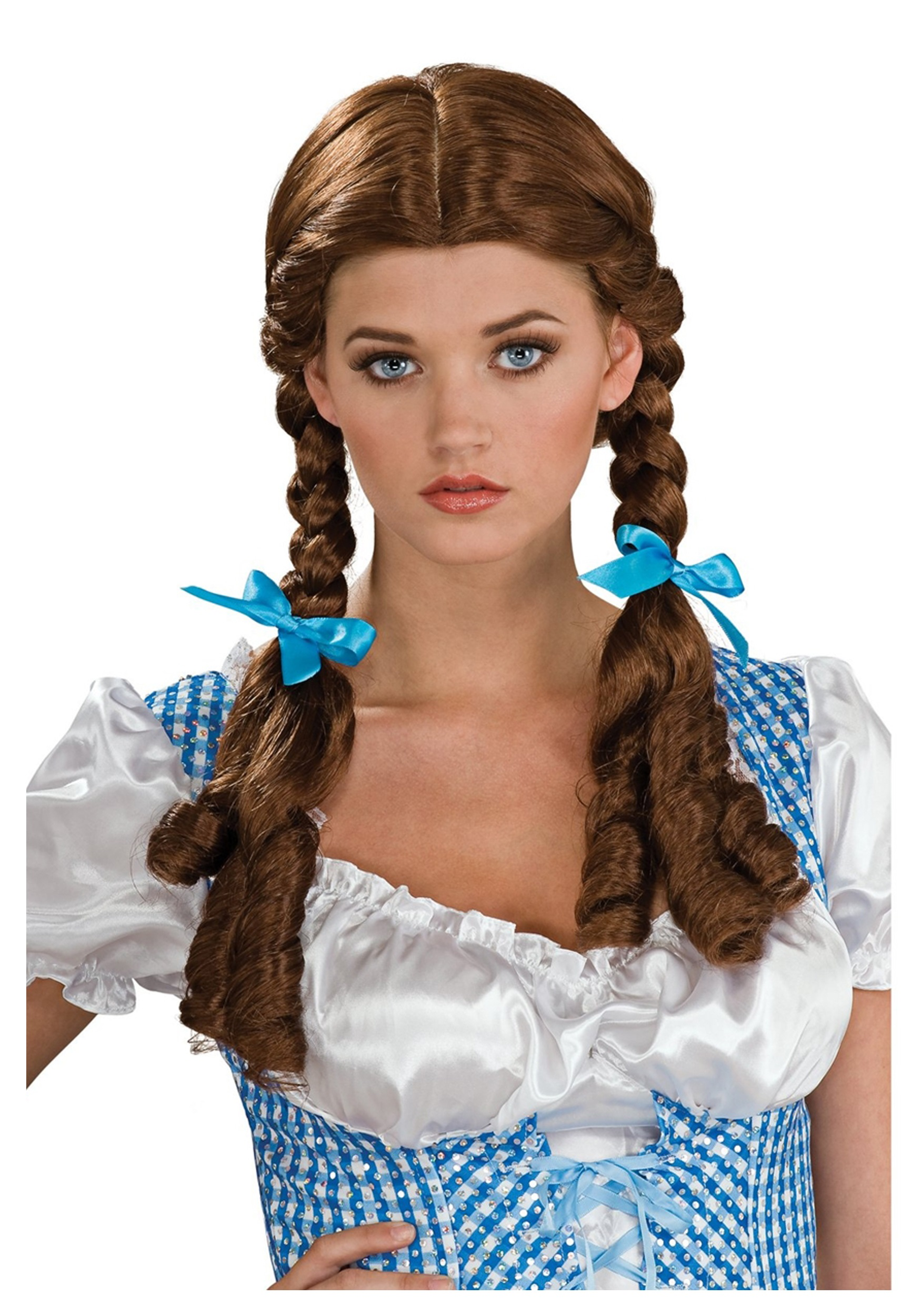 Dorothy Deluxe Wig  sc 1 st  Wizard of Oz Costumes & Dorothy Deluxe Wig - Sexy Wizard of Oz Costume Accessories for Halloween