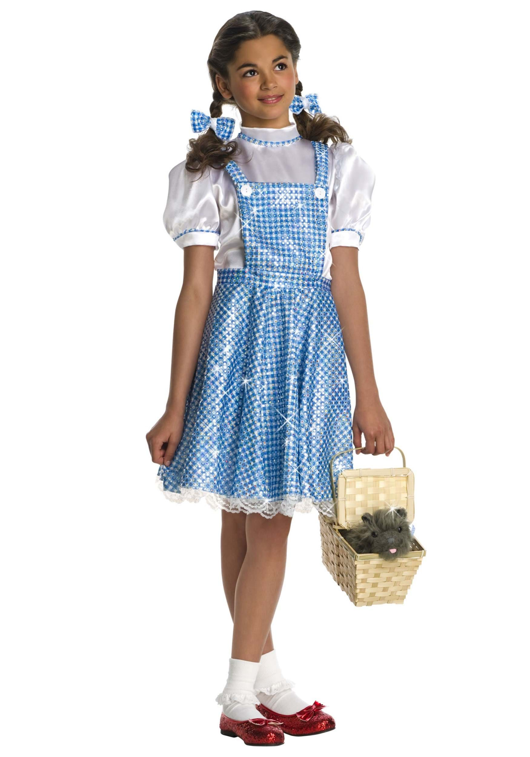 Sequin Dorothy Toddler Costume  sc 1 st  Wizard of Oz Costumes & Dorothy Halloween Costume - Wizard of Oz Dorothy Costumes Child
