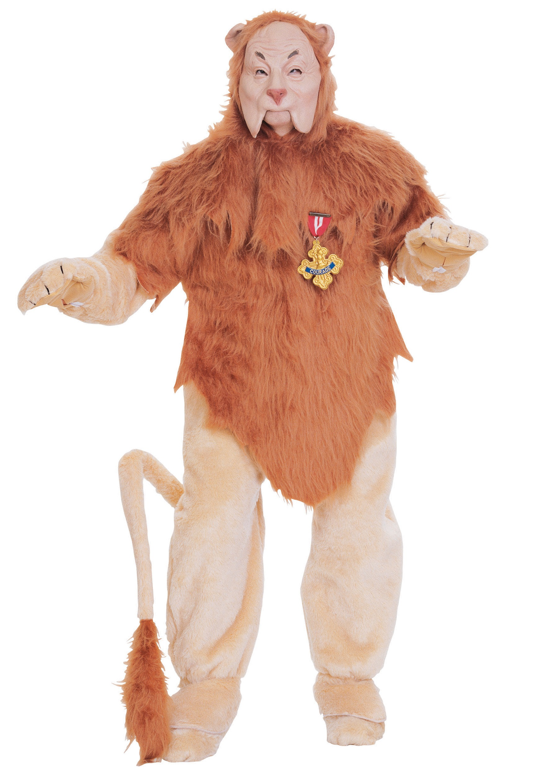 Authentic Cowardly Lion Costume - Wizard of Oz